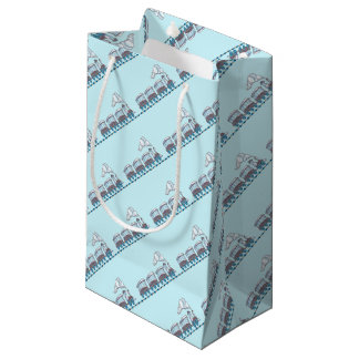 Toy Train Small Gift Bag