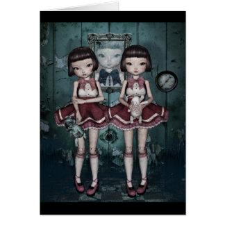 Toy Triplets notecards Card