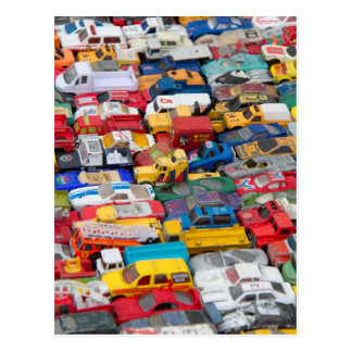 Toy Vehicles Post Card