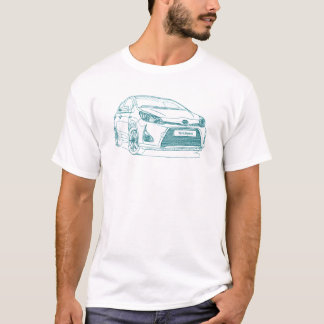 Toy Yaris hybrid 2013 T-Shirt