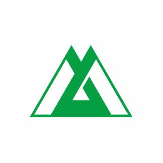 Toyama Prefecture, Japan Cut Out