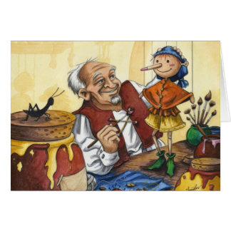 Toymaker Greeting Card
