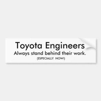 Toyota Bumper Sticker