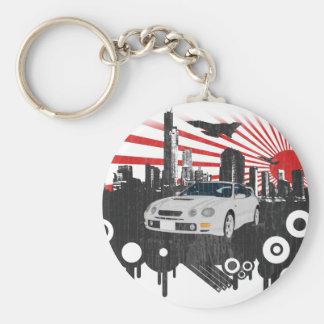 Toyota GT-4 Celica Basic Round Button Key Ring
