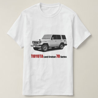 Toyota Land Cruiser 70 Series HZJ77 T-Shirt