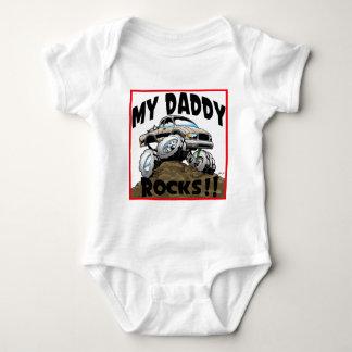 Toyota My Daddy Rocks Baby Bodysuit