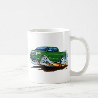 Toyota Tundra Crewmax Green Truck Coffee Mug