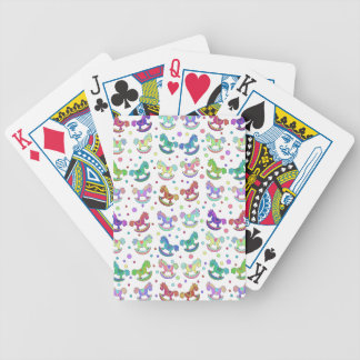 Toys pattern bicycle playing cards