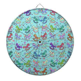 Toys pattern dart boards