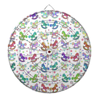 Toys pattern dartboards