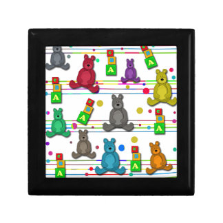 Toys pattern gift box