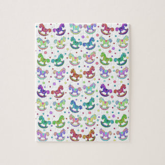Toys pattern jigsaw puzzle