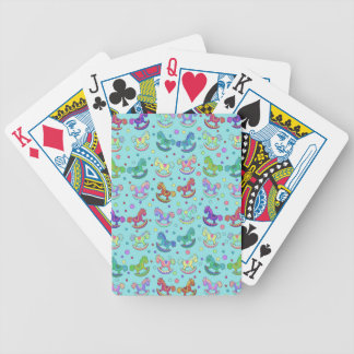 Toys pattern poker deck