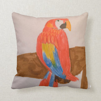 Toytastic Red Parrot Pillow