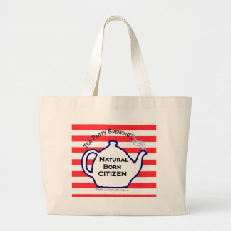 TP0110 Natural Born Citizen Tote Bags