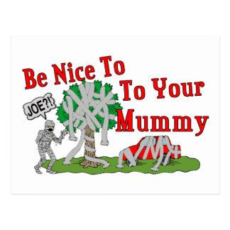 TP Mummy Postcard