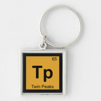 Tp - Twin Peaks San Francisco Chemistry Symbol Key Chain