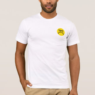 TPC BUMMER FACE TEE - YELLOW LOGO