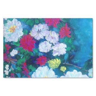 TQuinn origianl art flowers in spring Tissue Paper
