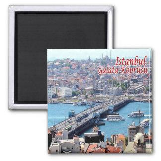 TR - Turkey - Istanbul - Galata Bridge Magnet