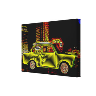 TRABBI - Digitally kind Jean Louis Glineur Canvas Print