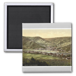 Traben Trarbach, Moselle, valley of, Germany rare Square Magnet