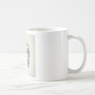 Trace a bird coffee mug