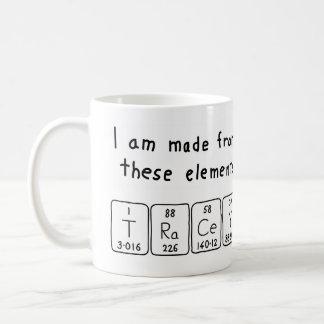 Tracey periodic table name mug