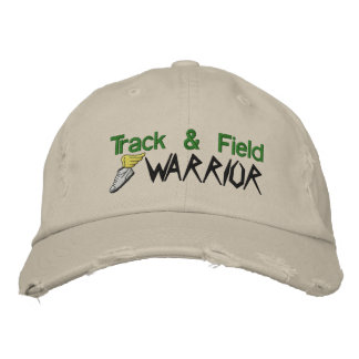 Track and Field Embroidered Hat