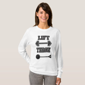 Track and Field Hammer Throwing Shirt