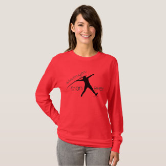 Track and Field Javelin Thrower Long Sleeve Shirt