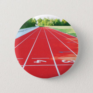 Track and Field - Runner Print 6 Cm Round Badge