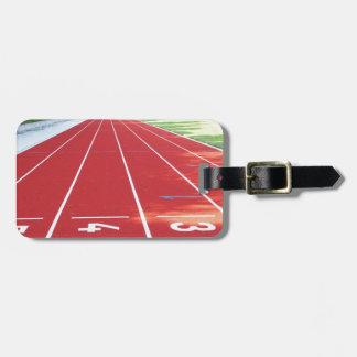 Track and Field - Runner Print Luggage Tag