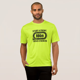 Track Field 800 meter Middle Distance Run Shirt