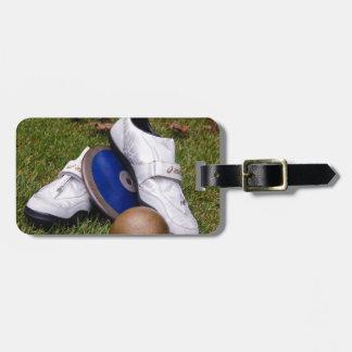 Track & Field Luggage Tag