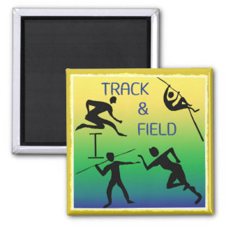 TRACK & FIELD Magnet