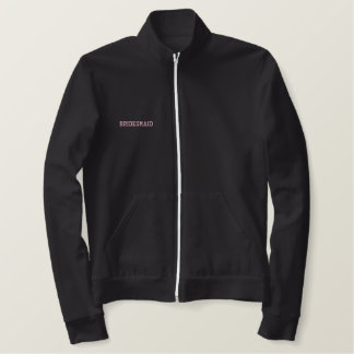 Track Jacket w/ Bride's name