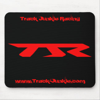 Track Junkie Racing (TJR) black mousepad