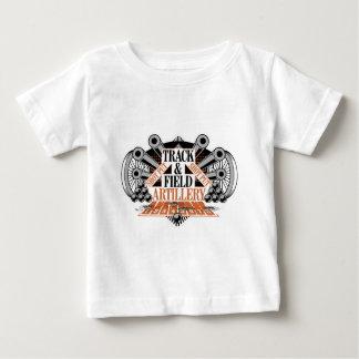 track n field artillery baby T-Shirt
