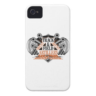 track n field artillery Case-Mate iPhone 4 cases