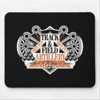 track n field artillery mouse pad