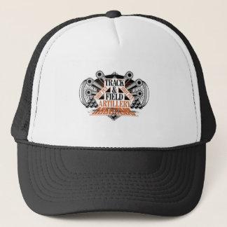 track n field artillery trucker hat