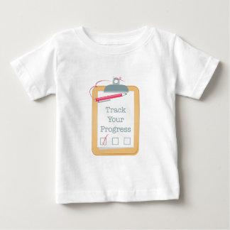 Track Progress Baby T-Shirt