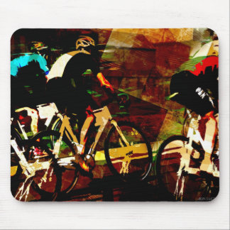 Track Racing Mouse Pad