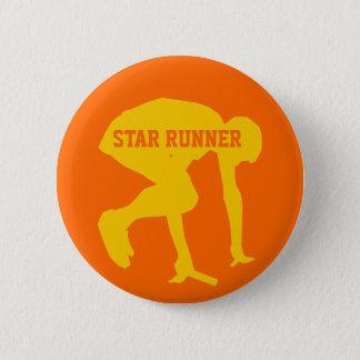 Track Runner (star runner) Customizable Button
