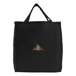 Track Shoe Tribal Canvas Bags