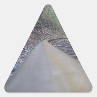 Track Triangle Sticker