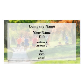 Track Team Business Card