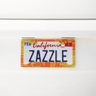 Tracker License Plate Frame