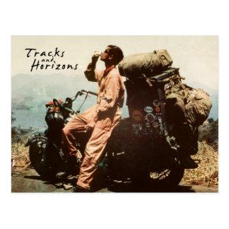 Tracks and Horizons Postcard
